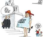 Steve Artley  Steve Artley's Editorial Cartoons 2018-06-28 girl