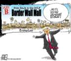 Steve Artley  Steve Artley's Editorial Cartoons 2019-01-27 immigration wall