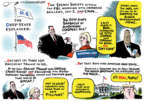 Jack Ohman  Jack Ohman's Editorial Cartoons 2018-02-01 crazy people