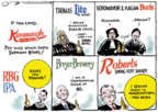 Jack Ohman  Jack Ohman's Editorial Cartoons 2018-10-12 Supreme Court