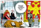 Jack Ohman  Jack Ohman's Editorial Cartoons 2019-01-15 Donald Trump and Russia