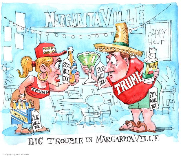 Irs Response To Trump Nothing Prevents Taxpayers From: Matt Wuerker's Editorial Cartoons