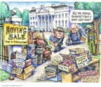 Matt Wuerker  Matt Wuerker's Editorial Cartoons 2008-11-10 Bush administration