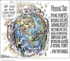 Matt Wuerker  Matt Wuerker's Editorial Cartoons 2009-12-08 climate change hoax