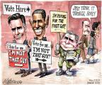 Matt Wuerker  Matt Wuerker's Editorial Cartoons 2012-11-06 2012 election endorsement