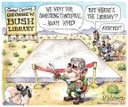 Matt Wuerker  Matt Wuerker's Editorial Cartoons 2013-04-25 Bush administration