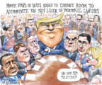 Matt Wuerker  Matt Wuerker's Editorial Cartoons 2017-06-21 2016 Election Donald Trump