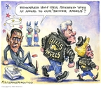 Matt Wuerker  Matt Wuerker's Editorial Cartoons 2008-04-29 2008 primary