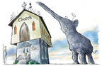 Nick Anderson  Nick Anderson's Editorial Cartoons 2005-04-26 state