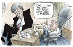Nick Anderson  Nick Anderson's Editorial Cartoons 2005-08-03 presidential authority