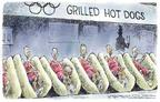 Nick Anderson  Nick Anderson's Editorial Cartoons 2004-08-17 Olympic athlete