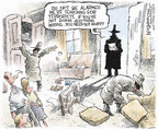 Nick Anderson  Nick Anderson's Editorial Cartoons 2006-05-14 presidential authority