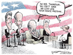 Nick Anderson  Nick Anderson's Editorial Cartoons 2007-10-11 2008 debate