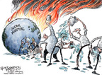 Nick Anderson  Nick Anderson's Editorial Cartoons 2007-12-14 international climate change