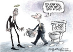 Nick Anderson  Nick Anderson's Editorial Cartoons 2008-12-11 toilet seat