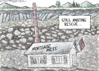 Nick Anderson  Nick Anderson's Editorial Cartoons 2010-10-17 real estate