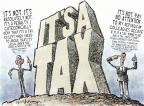 Nick Anderson  Nick Anderson's Editorial Cartoons 2012-07-04 presidential authority