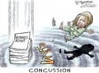Nick Anderson  Nick Anderson's Editorial Cartoons 2012-12-21 concussion