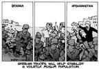 Kirk Anderson  Kirk Anderson's Editorial Cartoons 2003-10-01 Bosnia