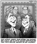 Kirk Anderson  Kirk Anderson's Editorial Cartoons 2004-03-10 2000 election Supreme Court