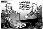 Kirk Anderson  Kirk Anderson's Editorial Cartoons 2004-01-27 briefcase
