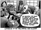 Kirk Anderson  Kirk Anderson's Editorial Cartoons 2004-02-13 Bush administration