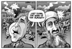 Kirk Anderson  Kirk Anderson's Editorial Cartoons 2004-09-13 Osama bin Laden