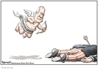Clay Bennett  Clay Bennett's Editorial Cartoons 2008-01-17 2008 primary