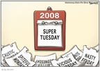 Clay Bennett  Clay Bennett's Editorial Cartoons 2008-02-04 2008 primary