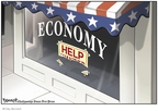 Clay Bennett  Clay Bennett's Editorial Cartoons 2008-02-13 recession