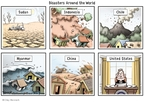 Clay Bennett  Clay Bennett's Editorial Cartoons 2008-05-13 volcano