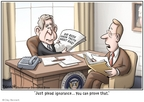 Clay Bennett  Clay Bennett's Editorial Cartoons 2008-06-01 know