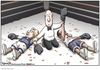 Clay Bennett  Clay Bennett's Editorial Cartoons 2008-06-04 2008 primary