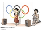 Clay Bennett  Clay Bennett's Editorial Cartoons 2008-08-13 reality
