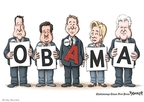Clay Bennett  Clay Bennett's Editorial Cartoons 2008-08-15 2008 election endorsement