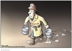 Clay Bennett  Clay Bennett's Editorial Cartoons 2008-10-02 recession