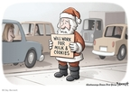 Clay Bennett  Clay Bennett's Editorial Cartoons 2008-12-04 recession