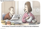 Clay Bennett  Clay Bennett's Editorial Cartoons 2009-01-14 recession