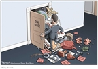 Clay Bennett  Clay Bennett's Editorial Cartoons 2009-01-22 recession