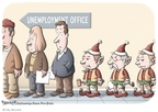 Clay Bennett  Clay Bennett's Editorial Cartoons 2009-12-27 unemployment