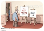 Clay Bennett  Clay Bennett's Editorial Cartoons 2010-02-07 reality