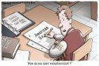 Clay Bennett  Clay Bennett's Editorial Cartoons 2011-01-28 class