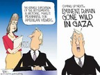 Chip Bok  Chip Bok's Editorial Cartoons 2005-08-18 Israel