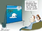 Chip Bok  Chip Bok's Editorial Cartoons 2006-04-04 climate change