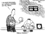 Chip Bok  Chip Bok's Editorial Cartoons 2007-03-13 basketball referee