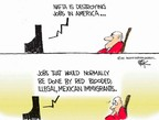 Chip Bok  Chip Bok's Editorial Cartoons 2007-05-29 illegal immigration