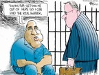 Chip Bok  Chip Bok's Editorial Cartoons 2007-09-20 jail
