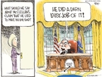 Chip Bok  Chip Bok's Editorial Cartoons 2008-06-02 Bush administration