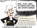 Chip Bok  Chip Bok's Editorial Cartoons 2010-03-17 American History