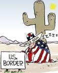 Chip Bok  Chip Bok's Editorial Cartoons 2010-07-29 immigration